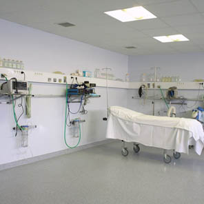 Pvc pro Walls for health sector